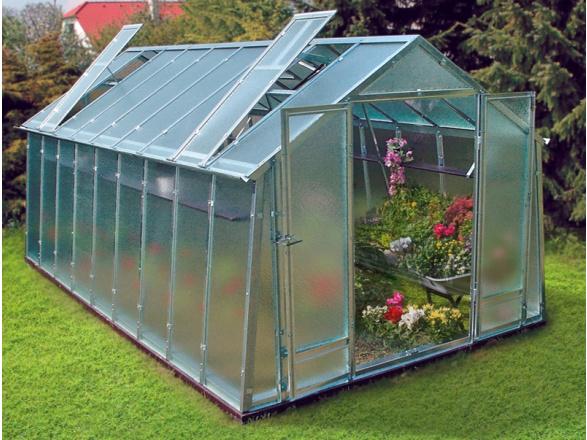 Skleněný skleník Buildex Growspot